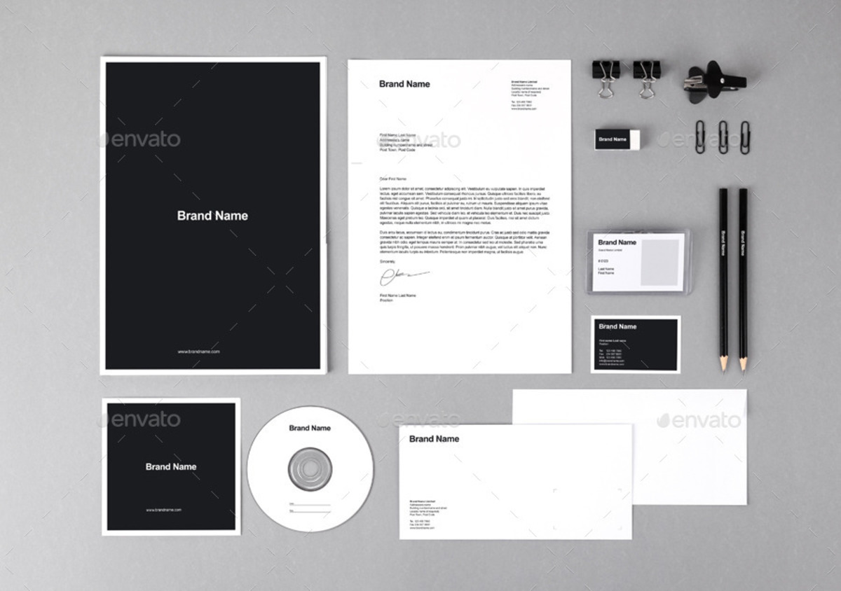 Branding Identity Mockups and Templates