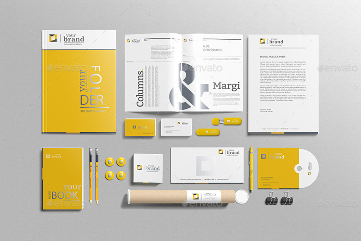 Branding Stationery Mockup Volume Three