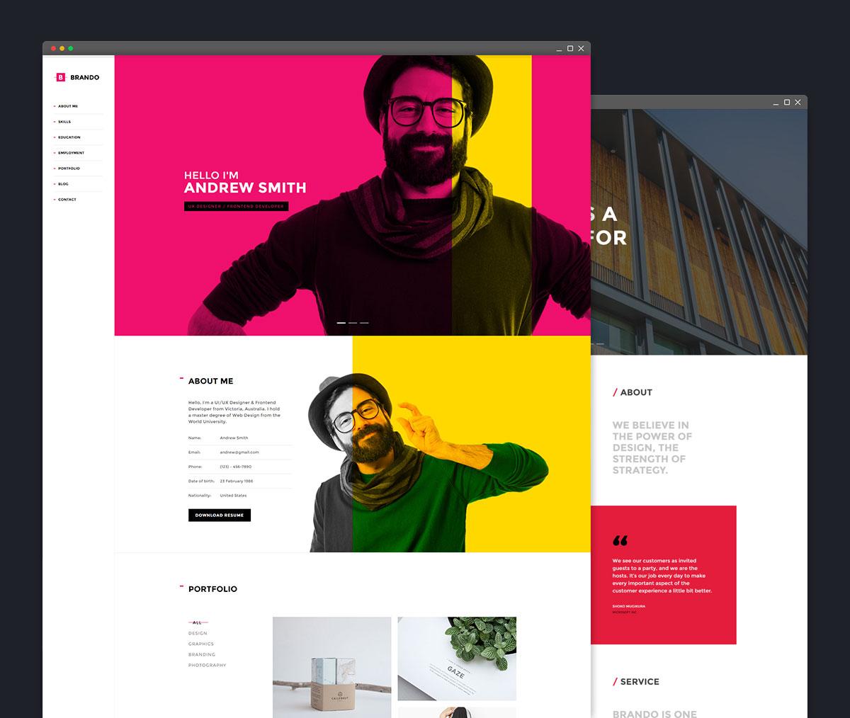 brando-best-portfolio-wordpress-themes
