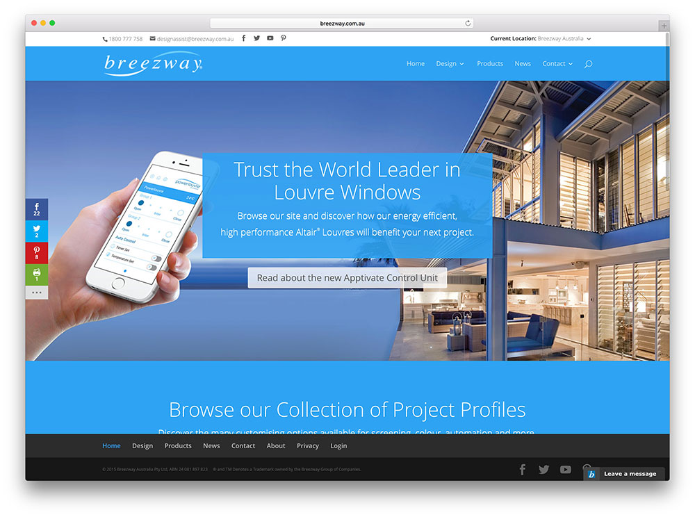Breezway Construction Website With Divi Theme Part 63