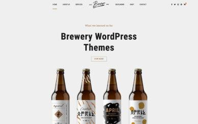 Brewery WordPress Themes