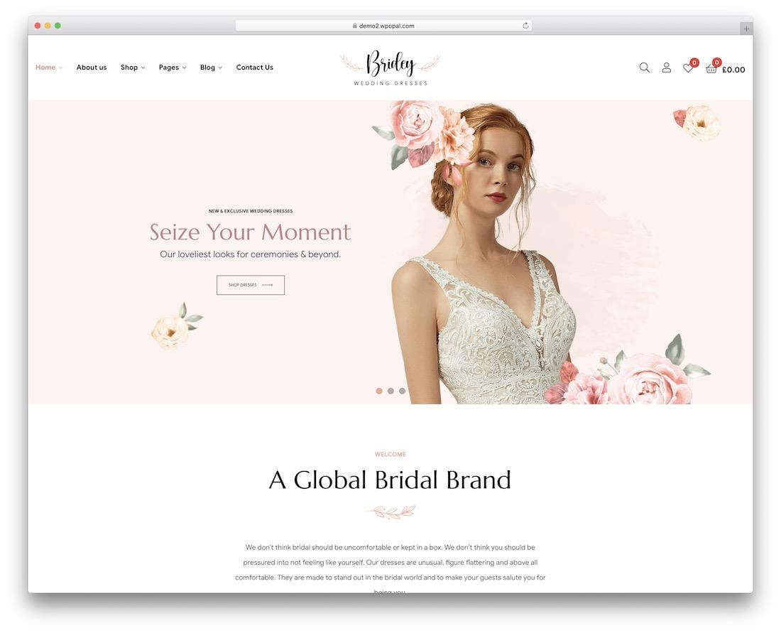 bridey wpml compatible wordpress theme