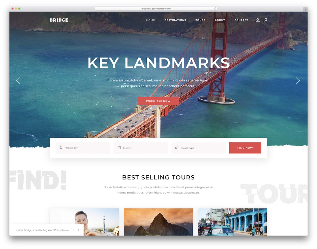 50+ Best WordPress Travel Themes For Blogs, Hotels and