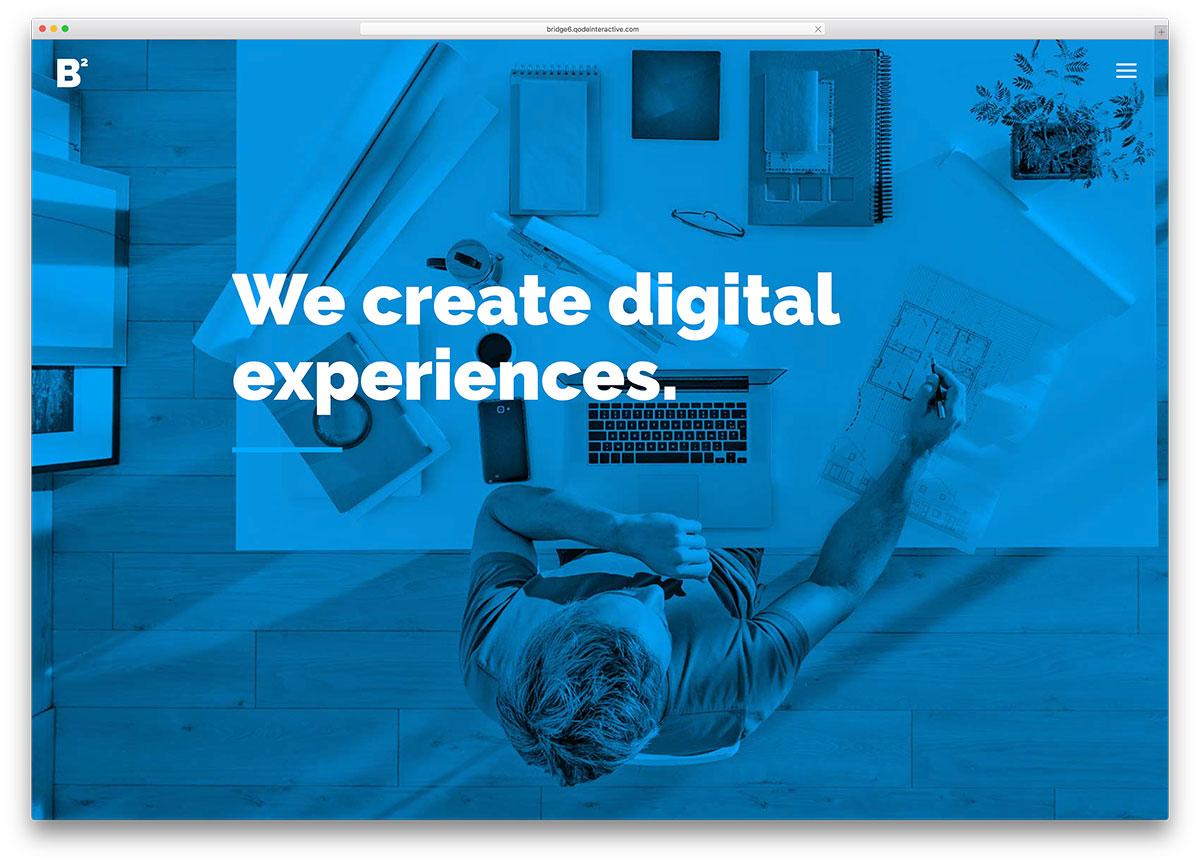 bridge-creative-agency-wordpress-website-template