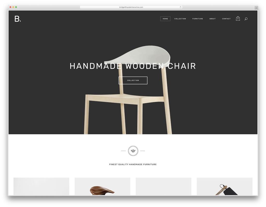 bridge furniture wordpress theme