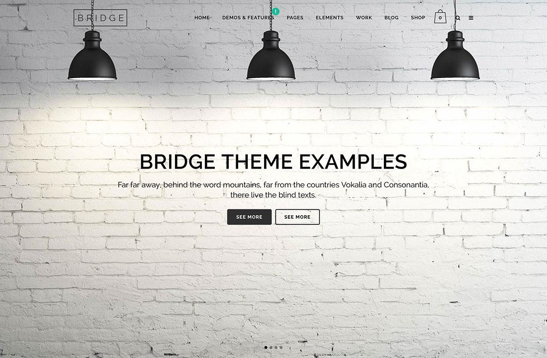Bridge Theme Examples