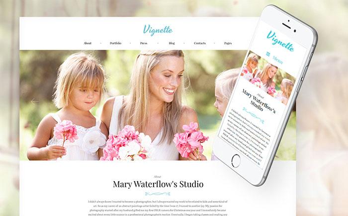 Online Portfolio WP Theme