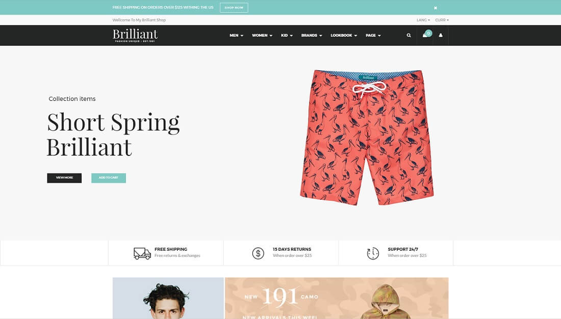 brilliant drupal commerce template