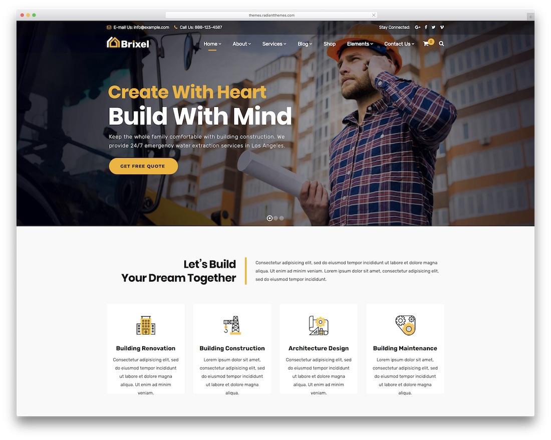 38 Best Small Business WordPress Themes 2019 - Colorlib