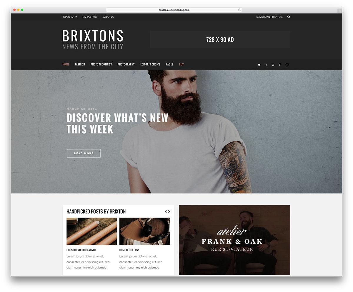 brixton-magazine-style-blog-theme