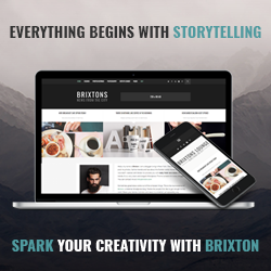 Brixton theme on Colorlib