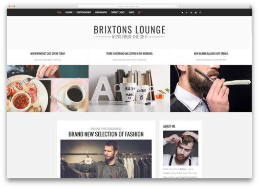 Brixton Theme Examples