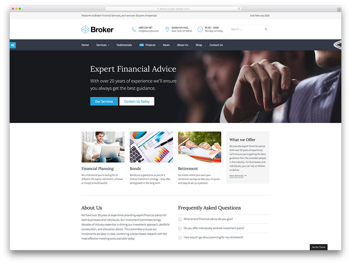 broker-service-wordpress-theme