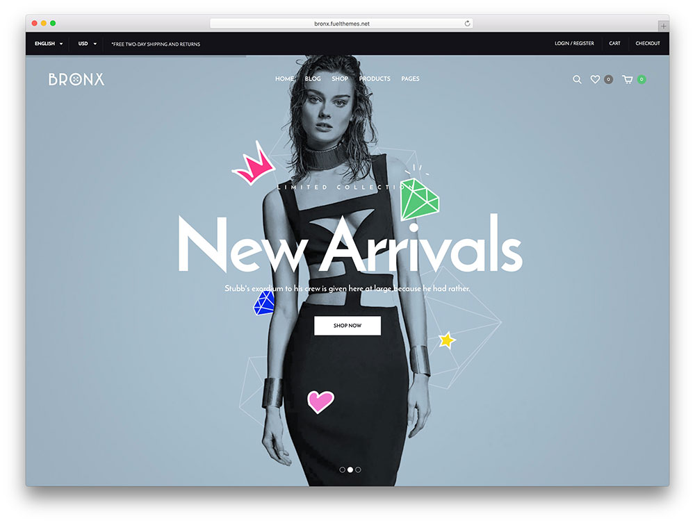 52 Awesome eCommerce WordPress Themes 2018 - Colorlib