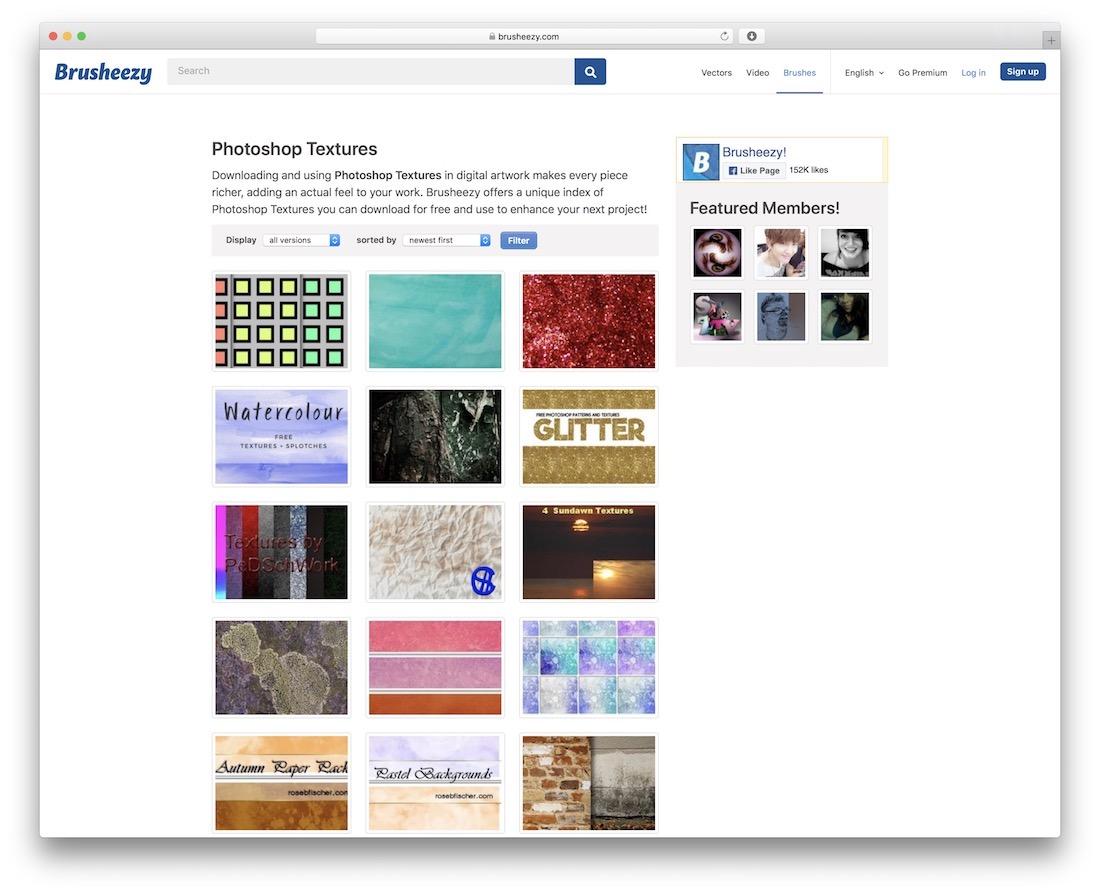 brusheezy free textures resource