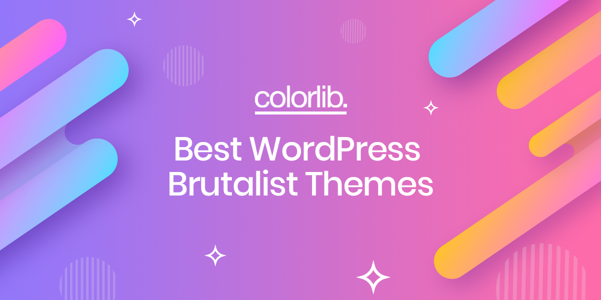 brutalist themes - 8 Best WordPress Brutalist Themes To Create a Catchy Website - Colorlib