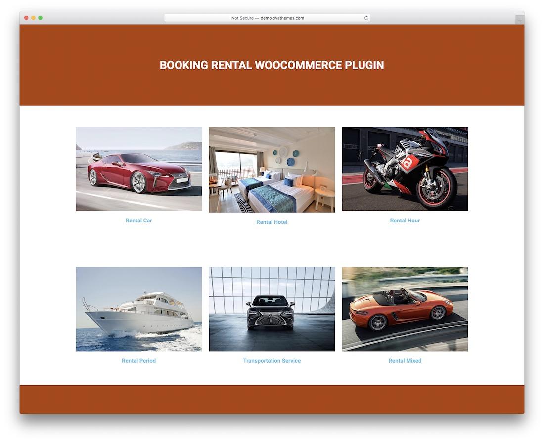 brw wordpress booking plugin