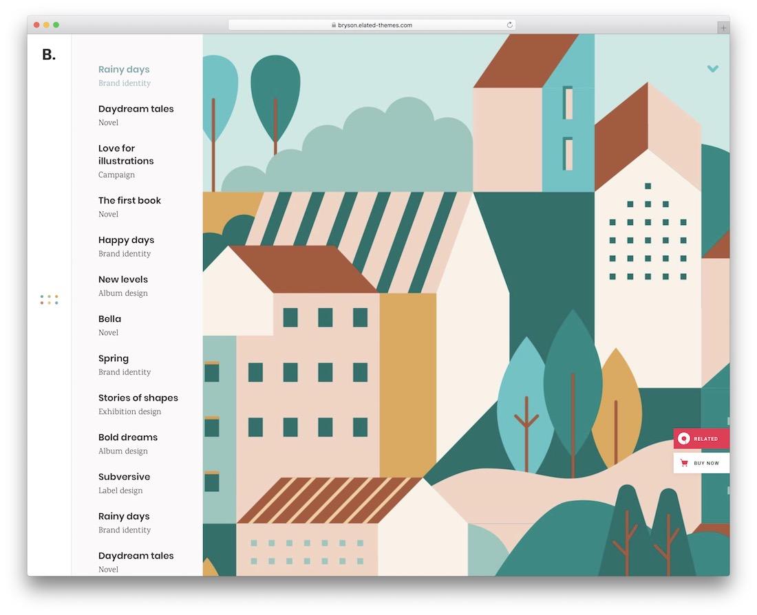 bryson wordpress theme