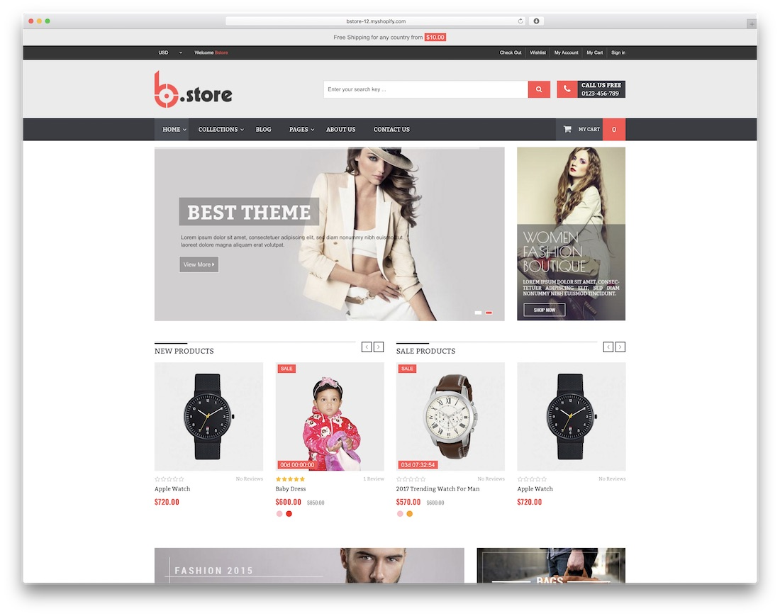 36 Free Best Shopify Themes For Your Online Store 2018 Colorlib
