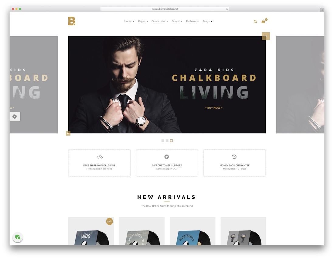btrend cheap wordpress theme