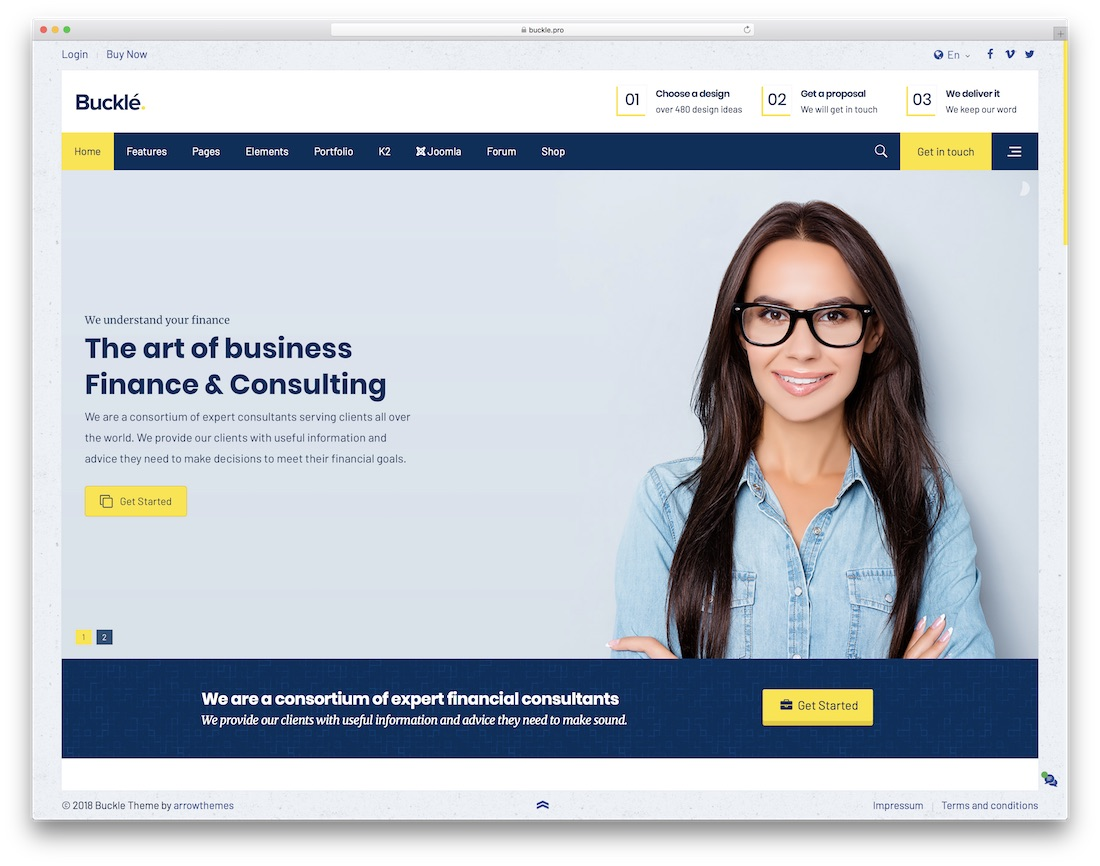 21 best most compelling joomla business templates 2018 colorlib buckle joomla business template cheaphphosting Choice Image
