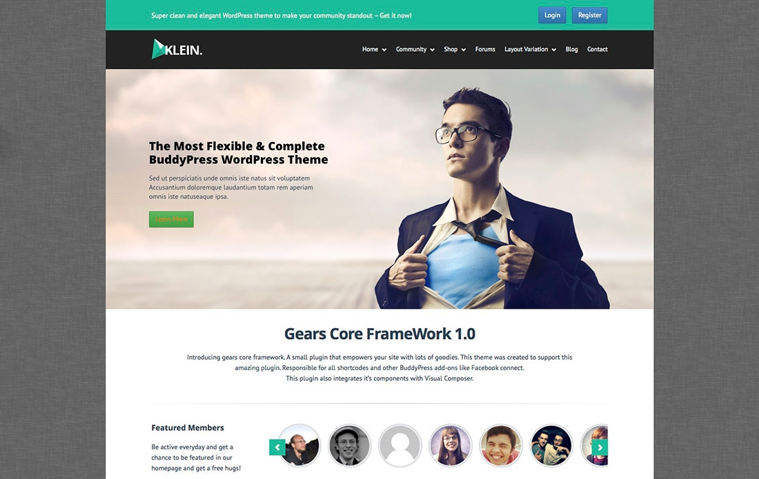 Stunning Collection Of The Best Responsive BuddyPress WordPress Themes 2014