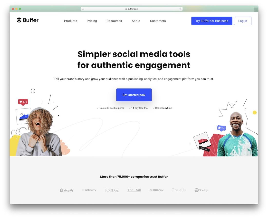 buffer social engagement