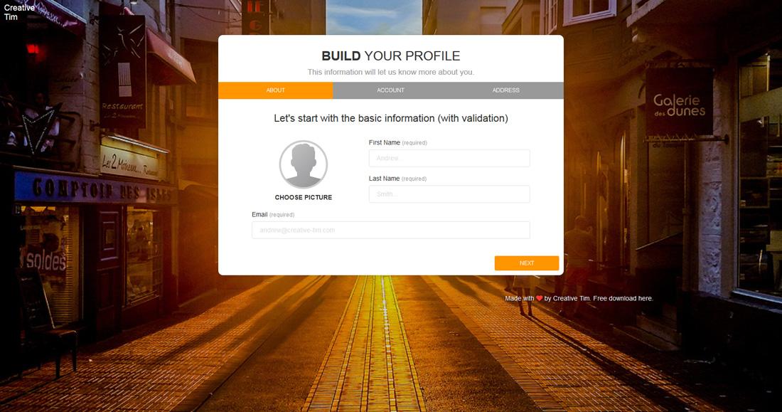build-your-profile