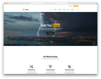 Builder Free Template