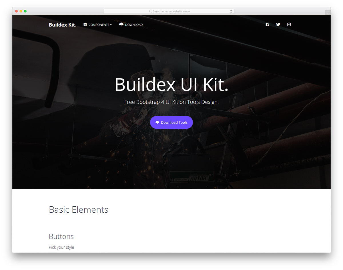 Buildex UI Kit