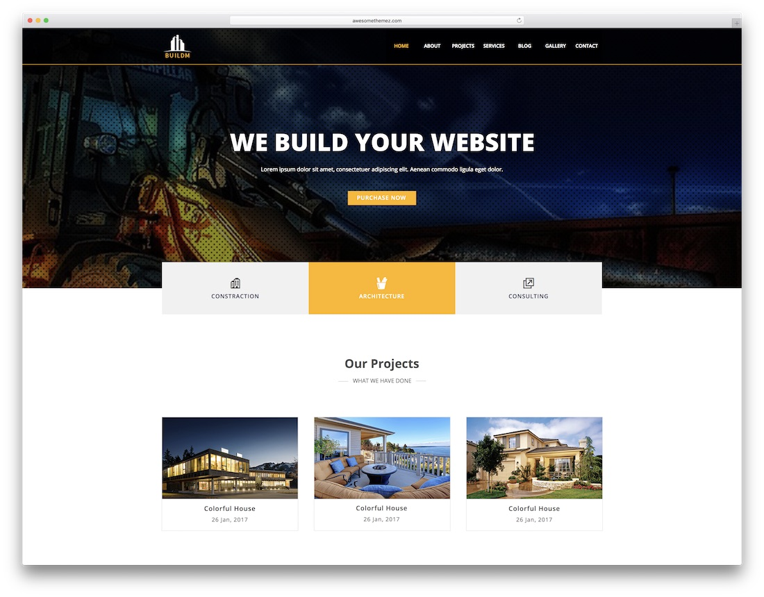 buildm adobe muse template