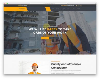 Buildream Free Template