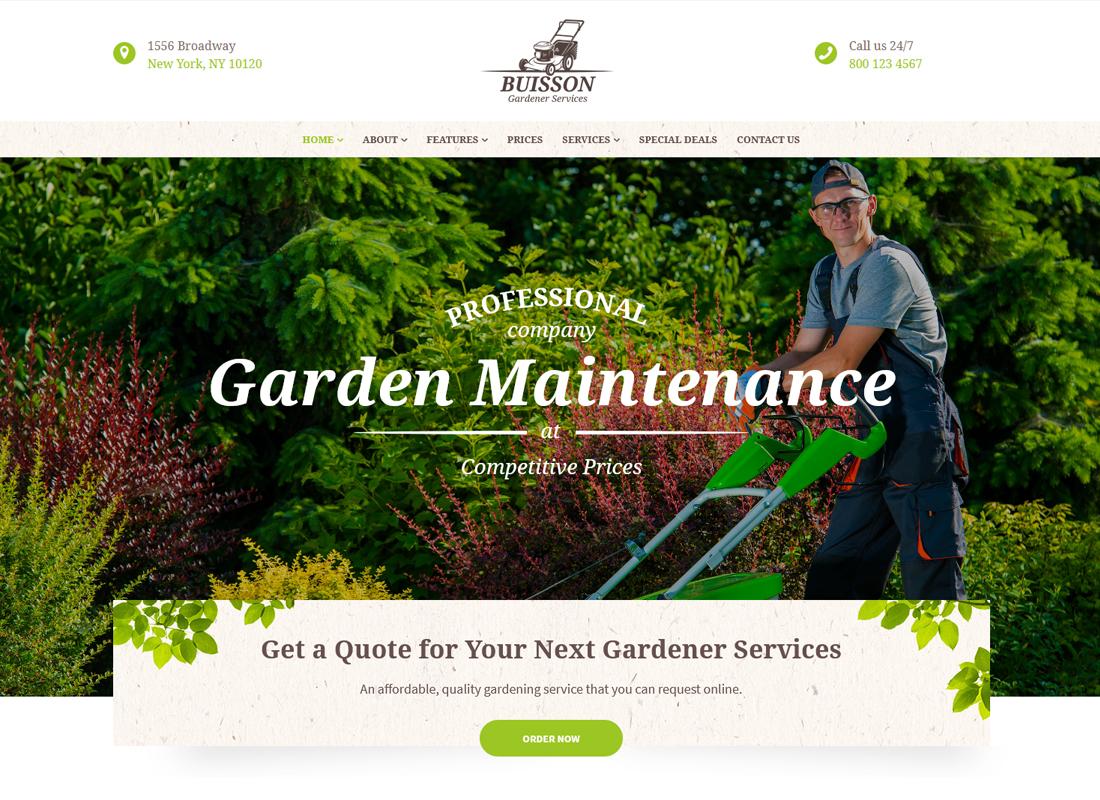 buisson-gardening-wordpress-theme