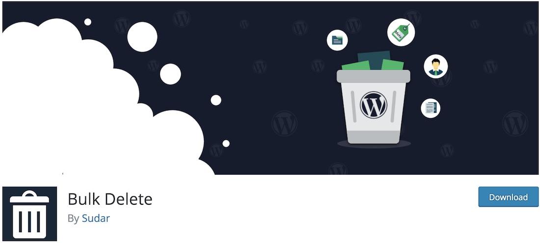 bulk delete wordpress user management plugin