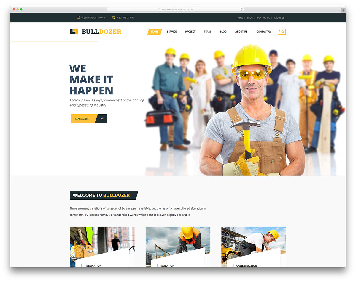 bulldozer-construction-company-website-template