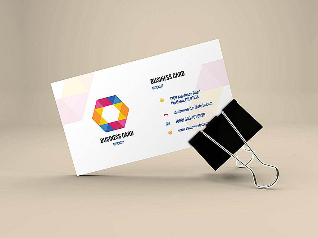 Business Card Mockup Concentrate