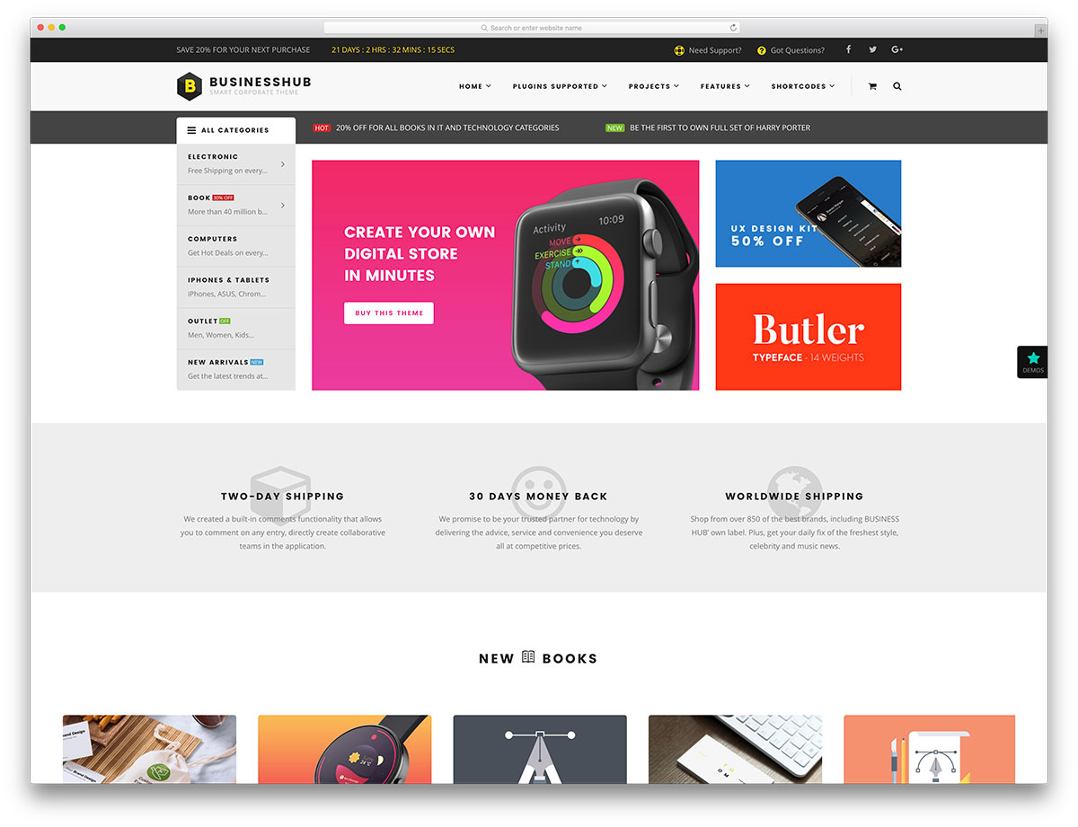 ecommerce site templates