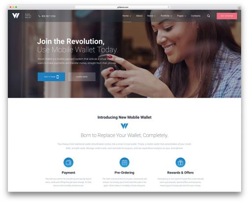 Business Service Wordpress Themes