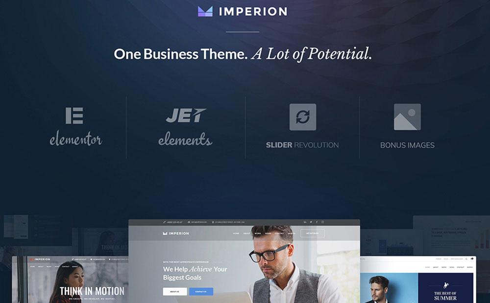 Business Marketing WordPress Theme