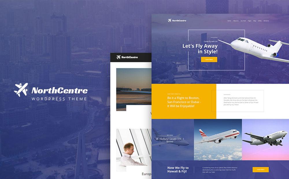 Private Airline WordPress Theme