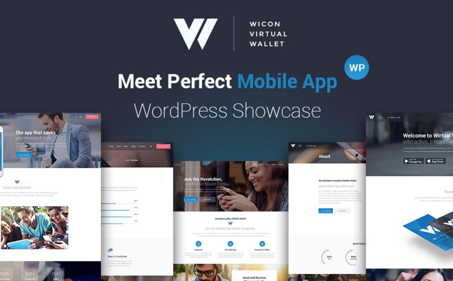 Wicon - Software Application WordPress Theme