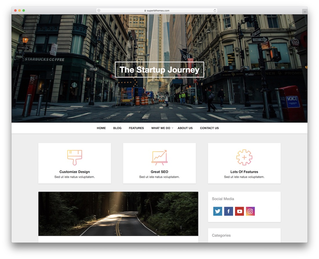 businessly free wordpress theme