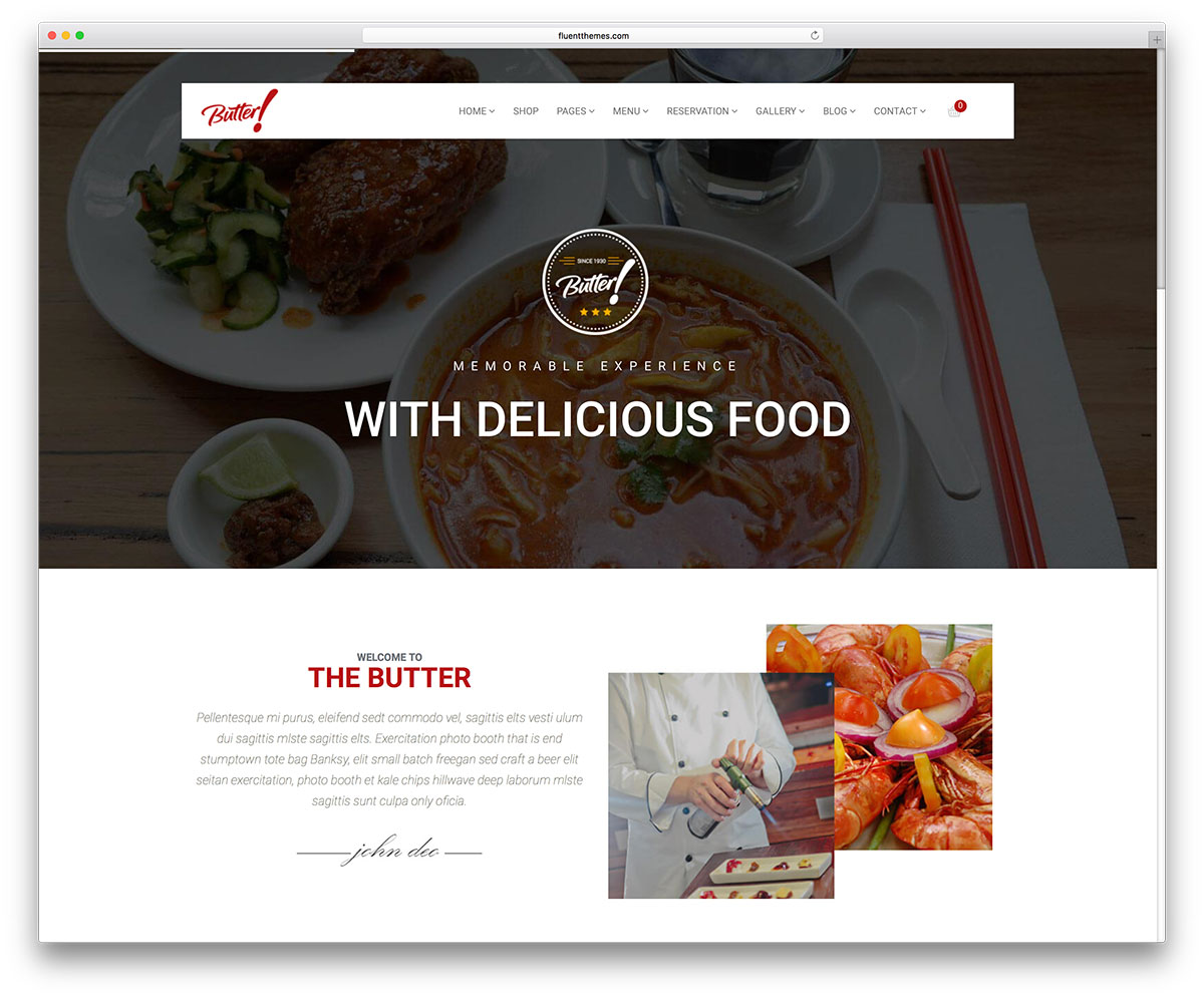 butter-minimal-restaurant-wordpress-template