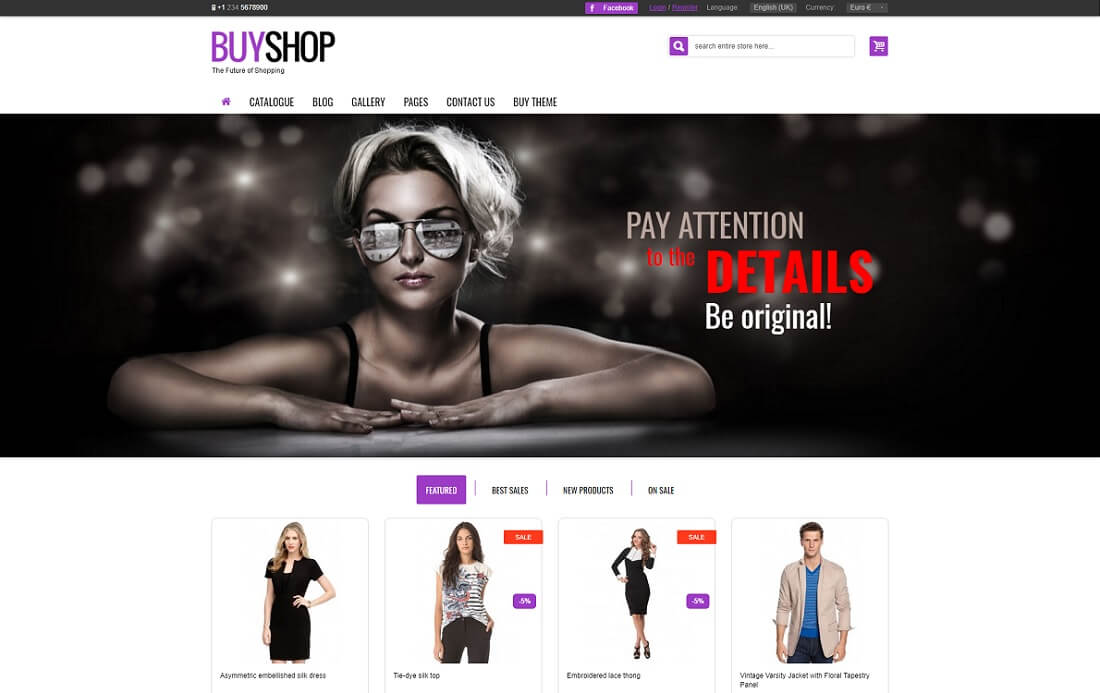 buyshop virtuemart template