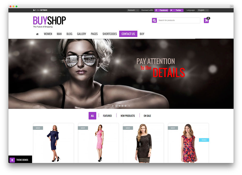 buyshop - creative market theme