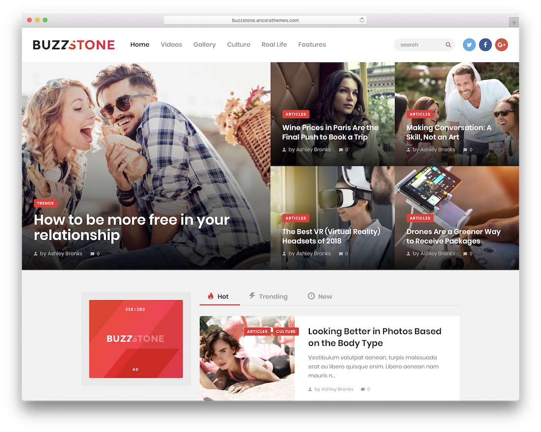 buzz stone viral wordpress theme