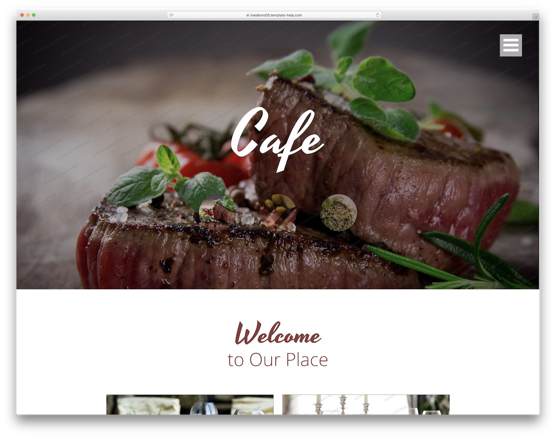 17 best free restaurant website template 2018 colorlib cafe and restaurant free website template maxwellsz