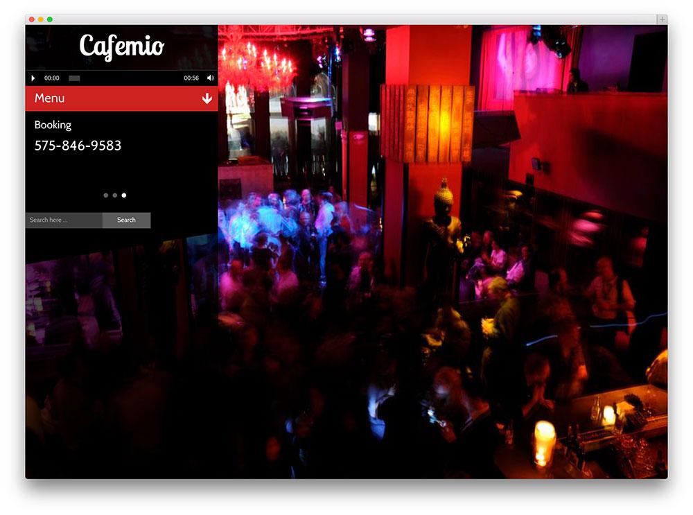 cafemio scenic ajax club music theme