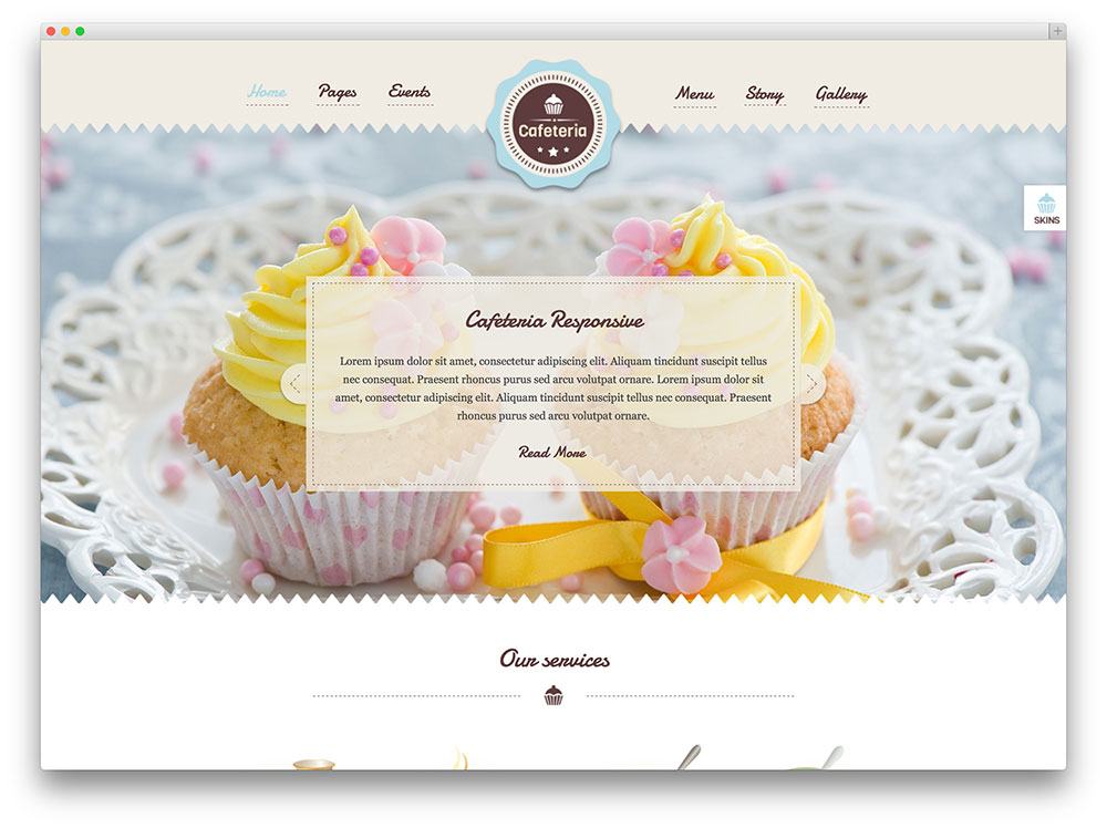 20+ Best WordPress Themes for Bakeries & Coffee Shops 2017 ...
