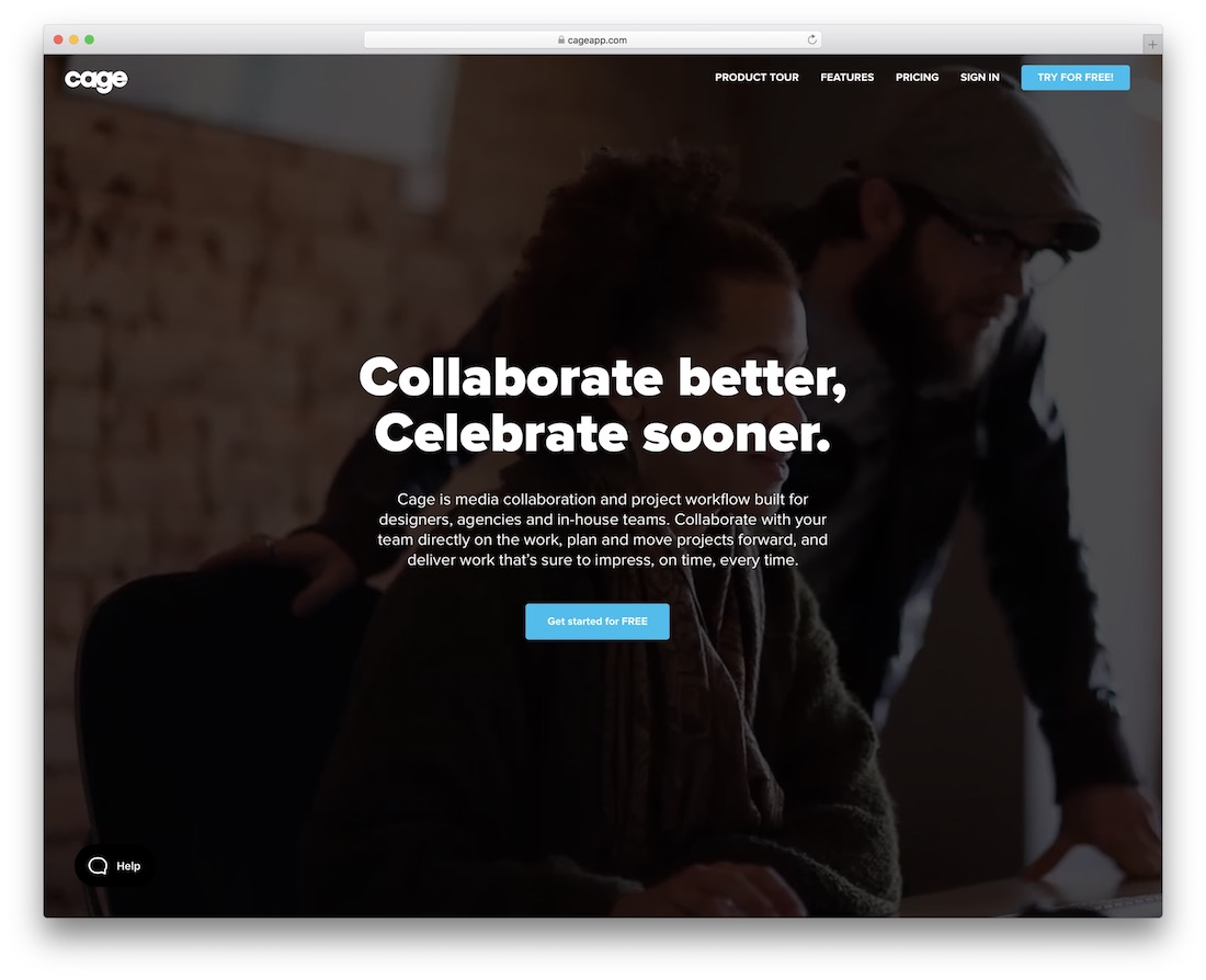 cageapp collaborative productivity tool
